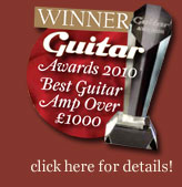 WINNER Guitar Awards 2010 - Best guitar amp over £1000